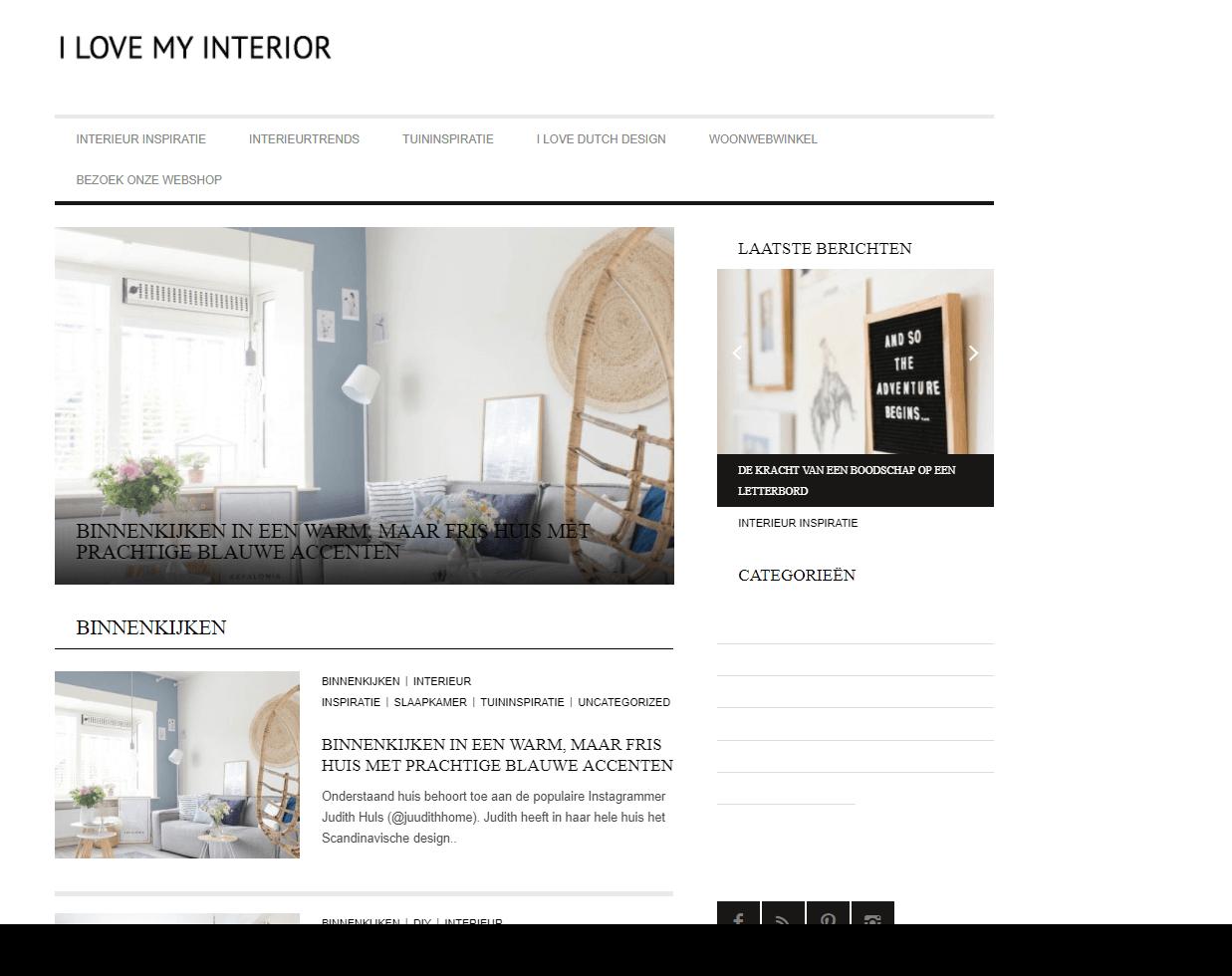 Binnenkijken I Love My Interior (1)