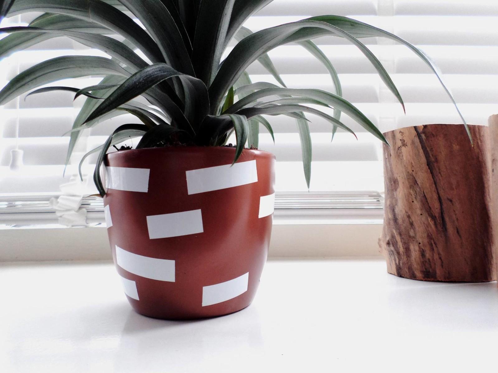 DIY bloempot