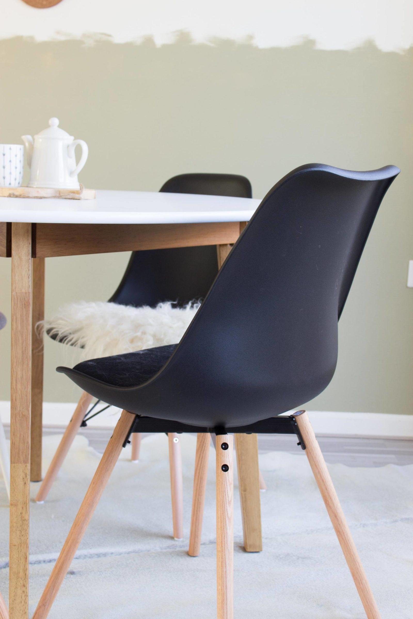 Tips voor een scandinavische eethoek juudithhome interior lifestyle blog - Zwarte eetstoel ...