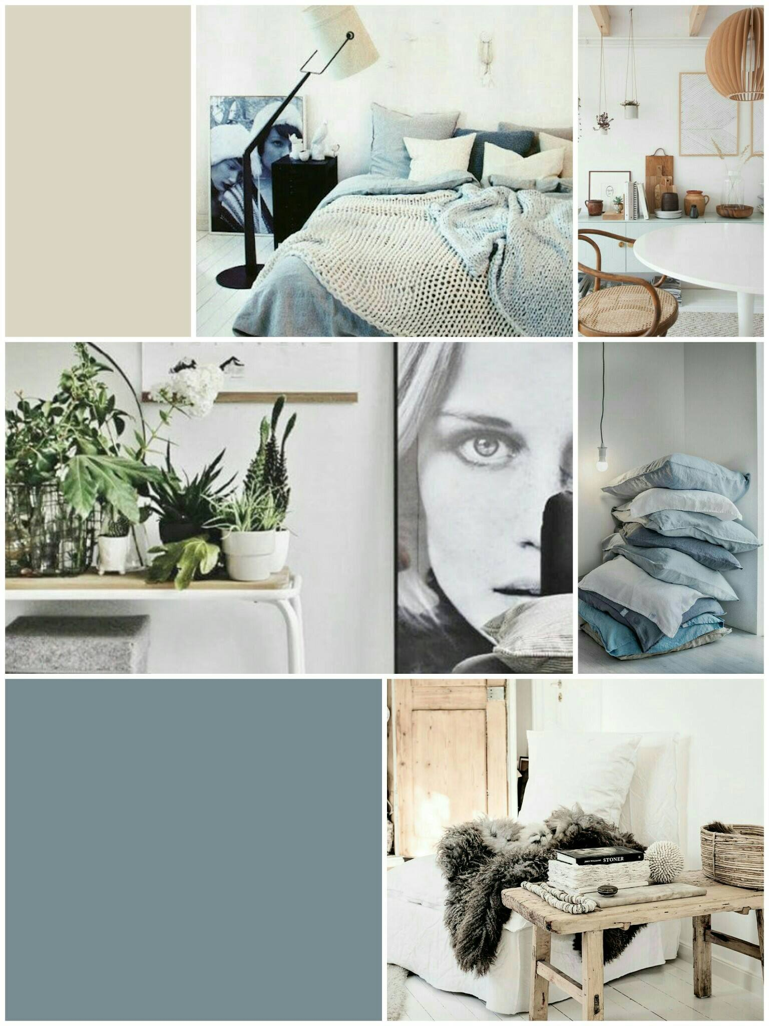 moodboard denim drift en sandy beach