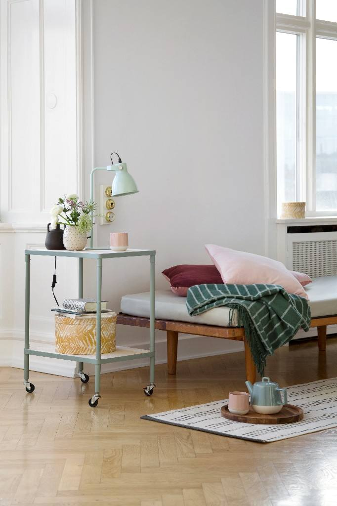 Voorjaarscollectie Sostrene Grene Trrolley Table