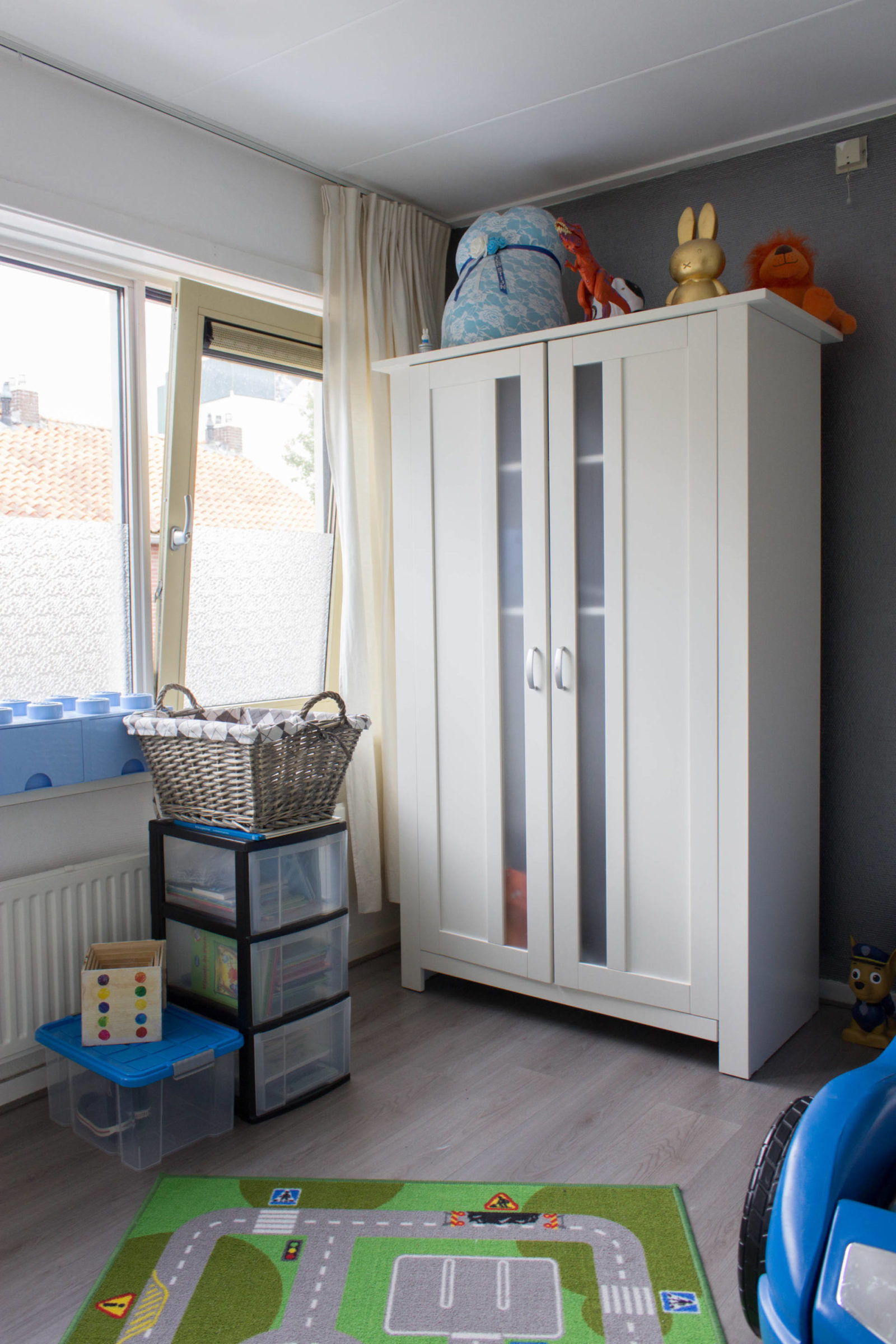 Gedeelde kinderkamer make-over